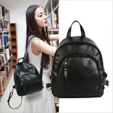 New 2018 Fashion Women Small Backpack Travel Pu Leather Handbag Shoulder Bag