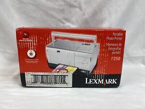 LEXMARK P250 PORTABLE PHOTO PRINTER