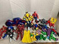 Hasbro Marvel Super Hero Mashers Mixed Lot Wolverine Spiderman 2013/2014
