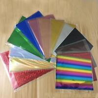 Foil Paper 50pcs Laminator Laser Printer Craft Paper A4 20x29cm Stamp Transfer