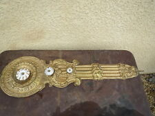 Pendel antik pendeluhr comtoise lyra porzellan de paris