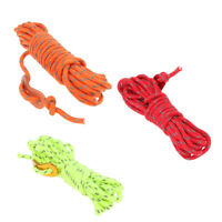 4mm Paracord Parachute Reflective Cord Lanyard Rope Camping Tent Accessory