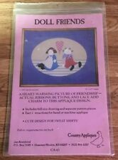 DOLL FRIENDS BY COUNTRY APPLIQUES 1987