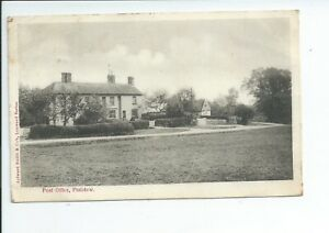 Printed postcard of the Post office in Plaistow West Sussex good condition
