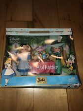 -Barbie Mattel Alice Mad Hatter Disney Kelly Tommy Collectors Edition 2002 57577