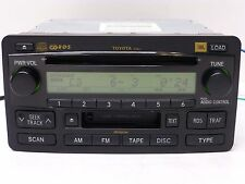 JBL TOYOTA SEQUOIA TUNDRA RDS RADIO 6 CD DISC CHANGER TAPE PLAYER STEREO 03 04