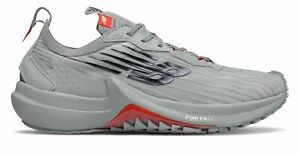 New Balance Women's FuelCell Speedrift EnergyStreak Shoes Grey with White & Red