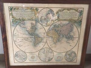 Carte ancienne Mappe Monde