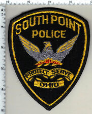 South Point Police (Ohio) Shoulder Patch from 1997