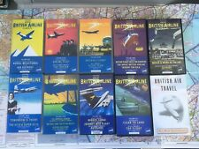 More details for boac / british airways collection aviation history vhs volumes & air travel