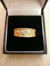 9 Carat Yellow Gold Diamond Ring Set