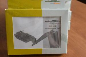 HO Scale-Roco Minitanks 5085 Armored Vehicle Launched Bridge M48 Plastic Kit NEW