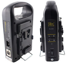 New 2 Channel Sony V-mount V Lock Li-ion battery Charger Power Supply for Camera