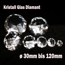 Kristall Glas Diamant Ø30-120mm Deko Glasdiamant Kristallglas Hochzeit Feng Shui