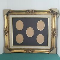 "VINTAGE 11""X14"" interior GILT GOLD ORNATE VICTORIAN WOOD PICTURE FRAME 16""x19"""