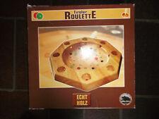 Tiroler Roulette- Echt Holz-mit Spielanleitung auf den Deckel-gebraucht