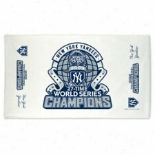 New York Yankees World Series Champions Clubhouse Design Towel 2009 - NWT