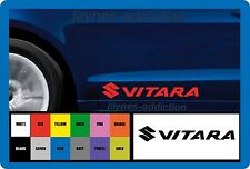 VITARA for SUZUKI - 2 x DOOR - VINYL CAR DECAL STICKER ADHESIVE - 300mm long