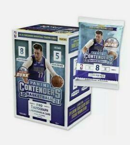 2020-21 Panini Contenders Basketball Blaster Box Factory Sealed NBA Morant Ball