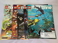 Lego Magazine Lot Jan-feb, Mar-Apr, May-June, July-August, Nov-Dec 2007