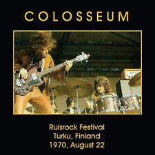 Colosseum On The Radio - Ruisrock Festival Turku, Finland 1970 CD NEW SEALED