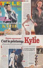 Tele Magazine Frankreich Kylie Minogue,Harrison Ford,Calista Flockhart