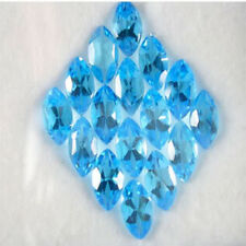 16.44ct Swiss Blue Topaz 100% Natural  Nice Color Gemstone $NR