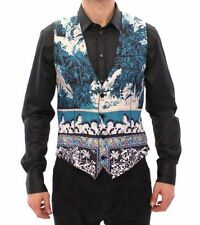 Dolce&Gabbana Women's Silk Formal Waistcoats for Men