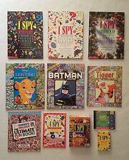 I Spy - Look & Find - Search Waldo Book Lot of 11 HB/PB + Computer & Card Games