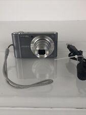 Read Details Sony Cyber-shot DSC-W810 20.1MP Digital Camera w/ 2GB SD & Battery