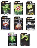 Hot Wheels Ghostbusters Diecast Vehicle Drift Tech,Bread Box, Battle Spec,Specty