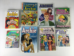8 Assorted Archie, Little Archie, And Betty And Veronica Comics/collections