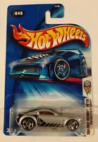 SHORT CARD 2004 HOT WHEELS FIRST EDITION FORD MUSTANG GT CONCEPT ZAMAC 48//100