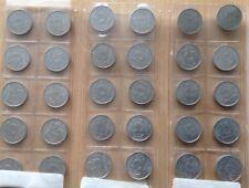 30 Münzen 5 Pfennig DDR in Schutzhülle