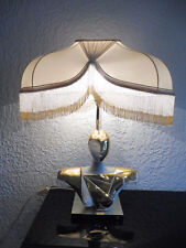 Sehr schöne,große Lampe (Tischlampe..)__Halbakt__signiert__75cm__Designerlampe