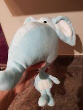 Blue Soft Toy Teddy Elephant (A556)