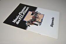 █ Plaquette MUSEE D'HISTOIRE DES PTT D'ALSACE à RIQUEWIHR Alsace Postes 1981 █