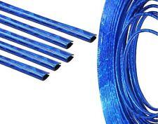 3 Meter Blaue Keder ZIERLEISTEN KANTEN SCHUTZ LEISTE U-Profil blau ICE BLUE