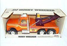 """NYLINT USA PRESSED Steel FORD HUSKY WRECKER TOW TRUCK """"Big Pumpkin"""" MIB`78 RARE!"""