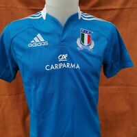 superbe  maillot de rugby ITALIE   marque adidas   taille 14 ans 2013