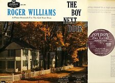 ROGER WILLIAMS the boy next door HA-R 2089 originally uk mono 1955 LP EX/VG