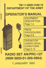 Radio Set AN/PRC-127, Operator's Manual