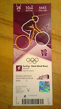 LONDON 2012 TICKET CYCLING ROAD RACE THE MALL 28 JULY 1000 M45 *MINT*