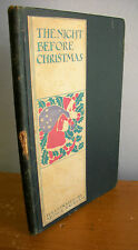 THE NIGHT BEFORE CHRISTMAS by Clement C Moore with Arthur Rackham Illustrations