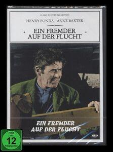 DVD EIN FREMDER AUF DER FLUCHT - Western-Klassiker - HENRY FONDA + ANNE BAXTER *
