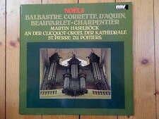 NOELS Balbastre Corrette D'Aquin Beauvarlet-Charpentier Martin Haselböck LP RAR