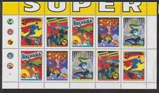 1995 Canada SC# 1583b Comic Book Superheros without fold - S. S. Lot 107 M-NH