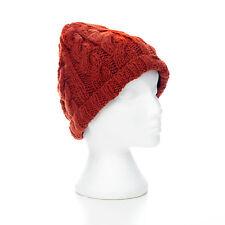 TEJIDO A MANO DE OCHOS estilo invierno de lana gorro, talla única, unisex GH9