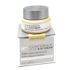 NEW It Cosmetics Confidence In An Eye Cream Full Size 0.5 .5 Oz / 15 mL