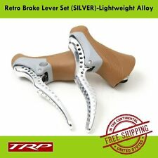TRP RRL SR Alloy Retro Brake Lever Set Light w/Gum Hoods Fit 23.8mm & 24.2mm